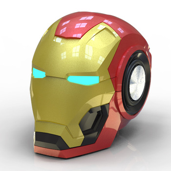 New Iron Man Bluetooth Speaker Gift Wireless Smart Radio bass Card Mobile phone Audio portable speaker portable speaker