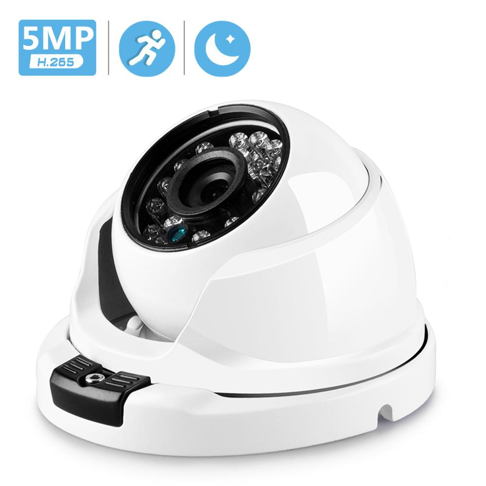 BESDER 2MP 3MP 5MP Motion Detection Security Camera  VandalProof Anti-vandal Indoor Outdoor IP Camera Metal Case IP66 XMEye IPC