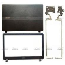 Novo para acer aspire ES1-523 ES1-532 ES1-532G ES1-533 ES1-572 portátil lcd capa traseira/moldura dianteira/dobradiças