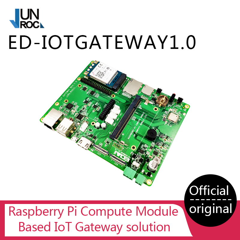 Raspberry Pi IoT Gateway Board With 4G Module LoRa Module Support Raspberry Pi Compute Module CM1 CM3 CM3+ LITE/8G/16G/32G