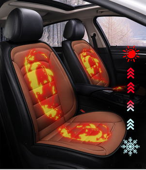 Pokrowiec na samochód poduszka elektryczna 12v ogrzewanie fotelik samochodowy auto części auto części pokrycie siedzenia samochodu podgrzewane siedzenia tanie i dobre opinie tisity Jesień I Zima Poliester Pokrowce i podpory