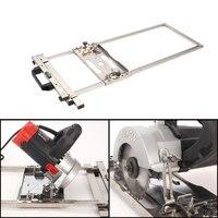 Multifunktions Strom Kreissäge Trimmer Maschine Rand Guide Positionierung Schneiden bord tools Holz Router