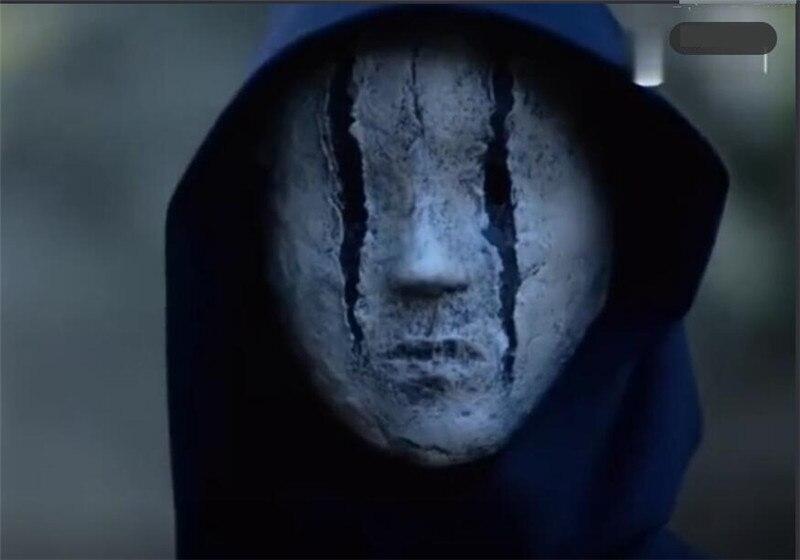 Страшный фильм заказ Косплэй маска ужаса Косплэй детали костюма Armour маска маскарадный жуткий страх Магия Маска монстра
