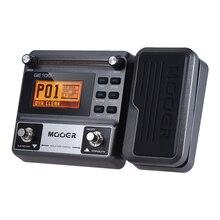 موير GE100 غيتار متعدد المؤثرات تأثير المعالج دواسة مع حلقة تسجيل ضبط اضغط الإيقاع مقياس الإعداد ووتر الدرس