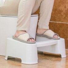 Туалет Удобство Подставка для ног Ванная Пластик Комод Взрослый Повышение Стелька-Ножка Табурет