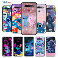 Disney Cartoon Animation Lilo Stitch For LG K92 K71 K62 K61 K52 K51S K50S K42 K41S K40S K31 K30 K22 Soft TPU Silicone Phone Case