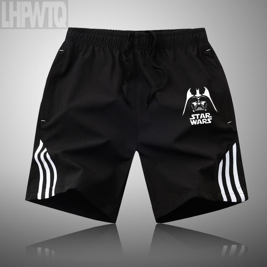 new Star wars Sports Shorts Pocket Gym Running Shorts Men Gym Fitness Training Run Jogging Shorts Casual Jogging Trousers