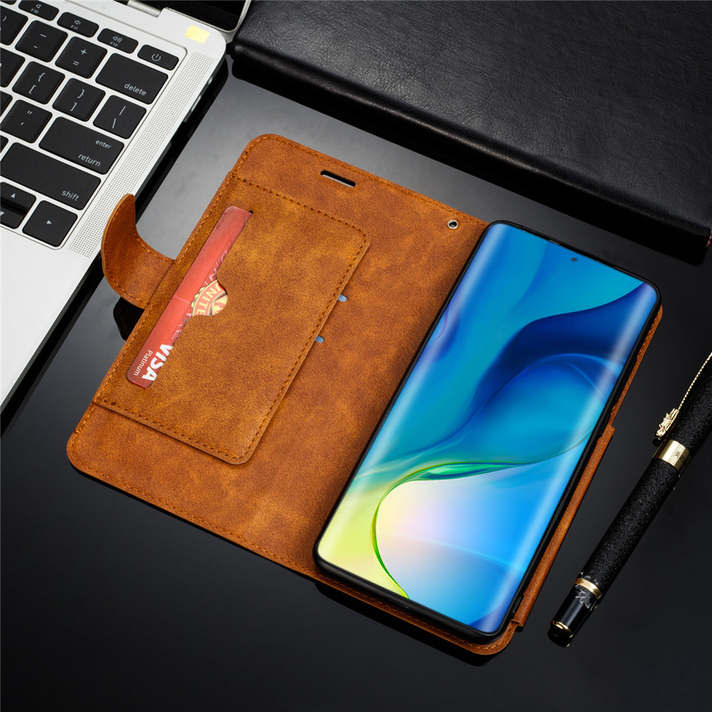 Huawei P20 Lite Case Retro PU Leather Case Huawei P20 Lite P8 P9 P10 P20 P30 Lite Pro Case Cover Detachable 2 in 1 Multi Card Wallet Phone cases12