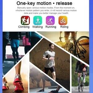 Image 4 - Femmes IP68 étanche montre intelligente P70 P68 Bluetooth 4.0 Smartwatch pour moniteur de fréquence cardiaque Fitness Tracker