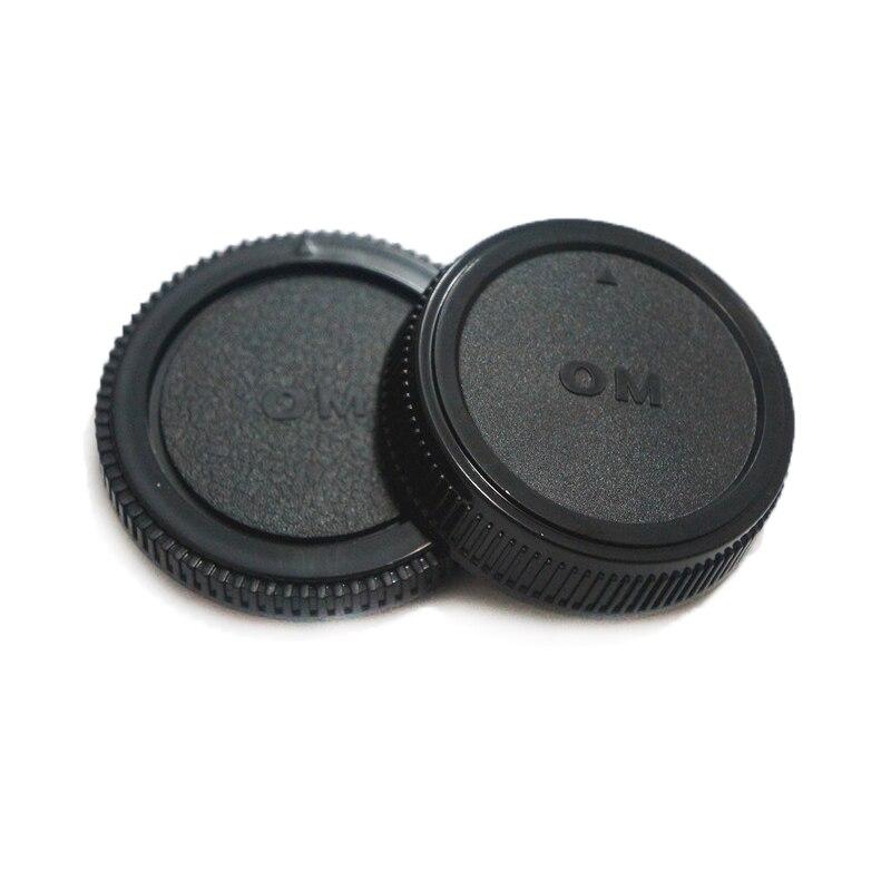 50 par/partia korpus aparatu + tylna pokrywka obiektywu L R5 dla Olympus OM4/3 OM43 OM 4/3 43 E620 e520 E510 E500 E5 w Osłony obiektywu od Elektronika użytkowa na  Grupa 1