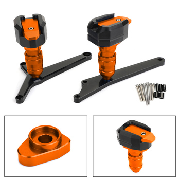 Artudatech Anti Crash Pads Frame Sliders Engine Protection for KTM RC 390 2014 2015 2016 2017 2018 RC390
