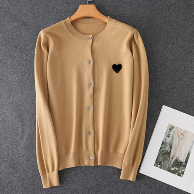 (have eyes)Spring Autumn Lover Couple  Cashmere sweater Love pattern Brand New Women Men Knitted Cardigan SweaterFashion Top 4