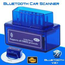 Najnowsza wersja Mini Bluetooth OBD2 V1.5 Elm 327 V 1.5 OBD 2 samochodów narzędzie diagnostyczne skaner adapter obdii automatyczne narzędzie diagnostyczne