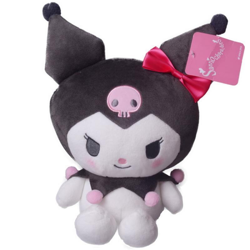 2021 New 20Cm Cartoon Kuromi Kawali Soft Plush Fashion Doll Anime Cute Lovely Beauty Fluffy Girls Boys Unisex Gift Kids Toys