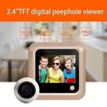 X5 2.4 Inch TFT Color Screen Display Home Smart Doorbell Security Door Peephole