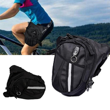 Bicycle Bag Leg Drop Motorcycle Waist Pack Men Fanny Thigh Canvas Belt Outdoor Bike Man Adjustable Leg Bag Package Knight Waist waterfly discount price free shipping knight waist bag motorcycle bag outdoor package multifunction bag
