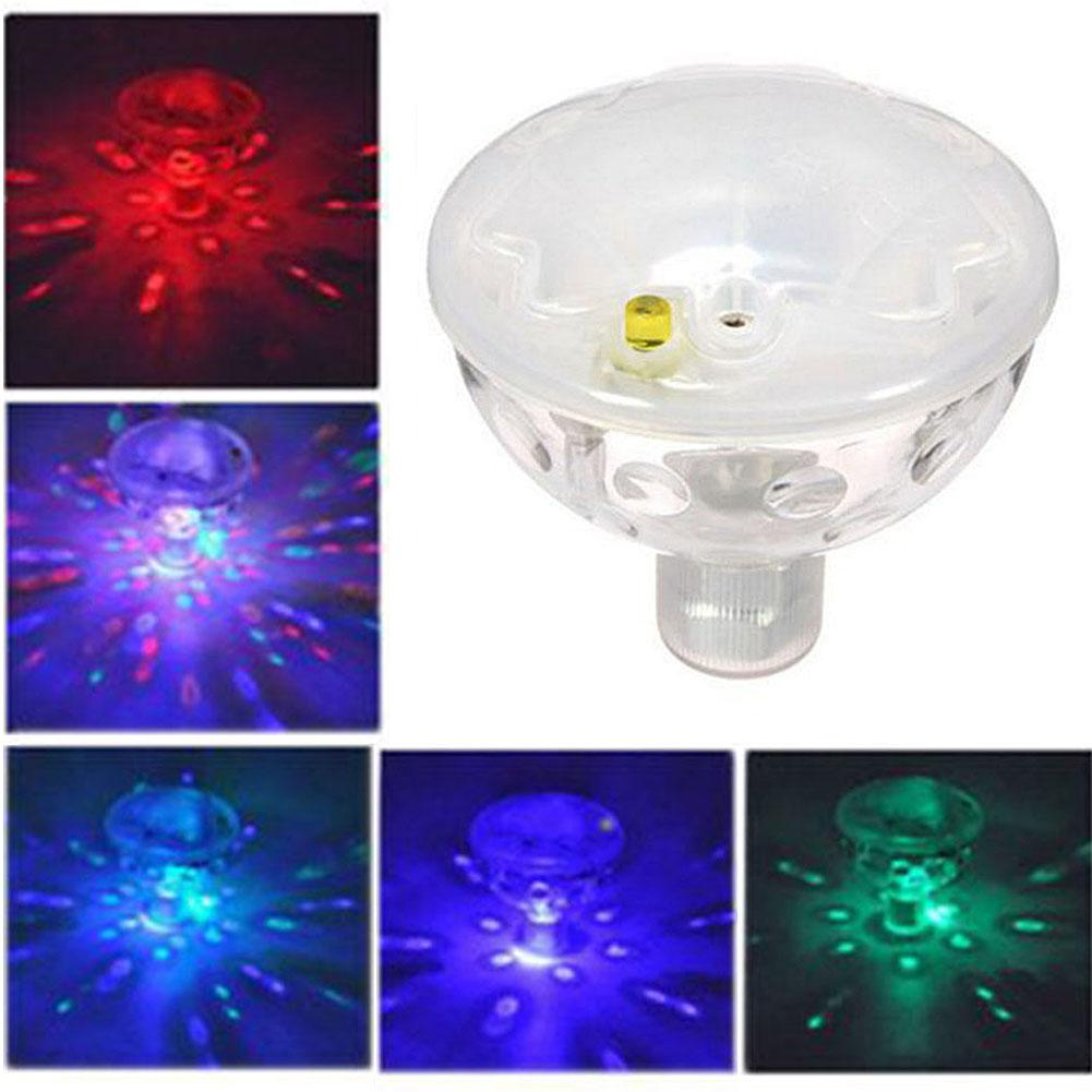 Solar Water Floating Light Solar Pool Underwater Waterproof LED Light Automatic Color Changing Light Solar Pond LED Light