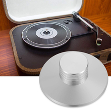 Aluminum LP Vinyl Turntable Record Player Balanced Reduce Vibrate Metal Disc Stabilizer Professional Durable HIFI Solid