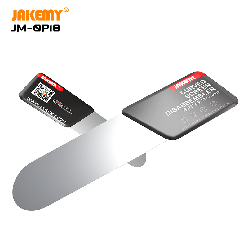 JAKEMY Ultra Thin Pry Opening Card For Mobile Phone Curved Screen Disassemble Repair Tools