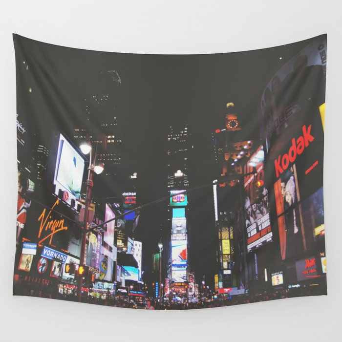 Evening Glow Times Square Wall Tapestry Cover Beach Towel Throw Blanket Picnic Yoga Mat Home Decoration Tapestry Aliexpress