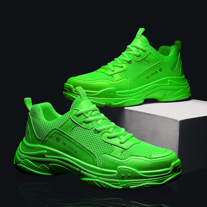 2020 Trend Men And Women Shoes Light Breathable Thick Bottom Brand Couple Sneakers Running Shoe Trend Comfortable Sports Shoes