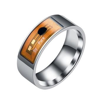 8mm NFC Tag Smart Magic Ring Wearable Smart Rings Finger Digital Ring for Android Phone with Functions 1