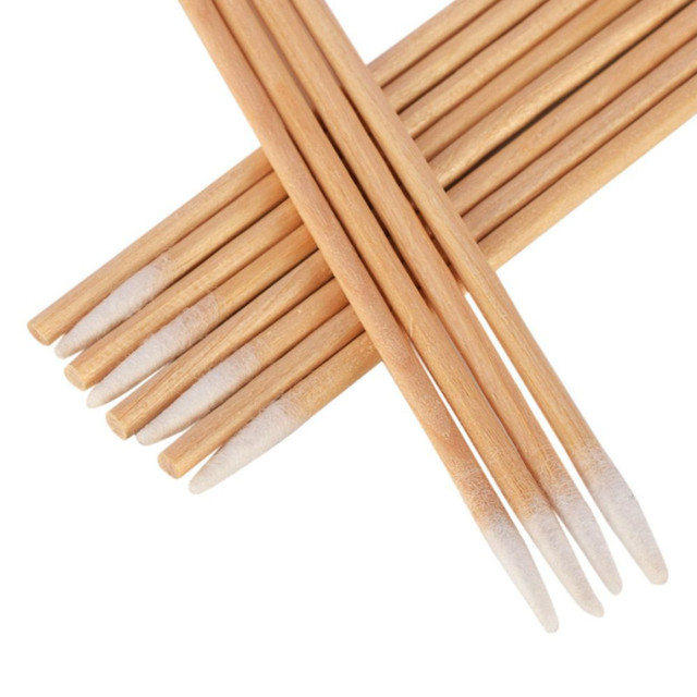 Tattoo accesories 100Pcs Microblading Micro Brushes Swab Lint Free Cleaning Brushes 1