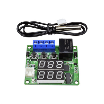 Taidacent NTC Waterproof Temperature Controller W1209S Digital Dual Display 12 Volt Thermostat Switch Digital Thermostat Module taidacent ntc waterproof temperature controller w1209s digital dual display 12 volt thermostat switch digital thermostat module