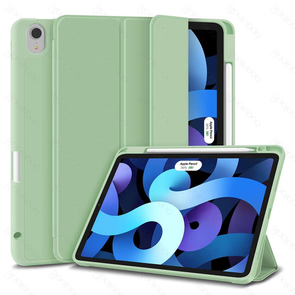 Matcha green For iPad Air 4 Case for iPad air 2020 Case 10 9 Inch 4th Generation Smart
