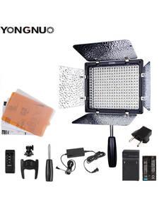 Video-Light-Optional Battery-Kit Power-Adapter Photo Led Yongnuo Yn300 YN-300 3200k-5500k-Cri95-Camera