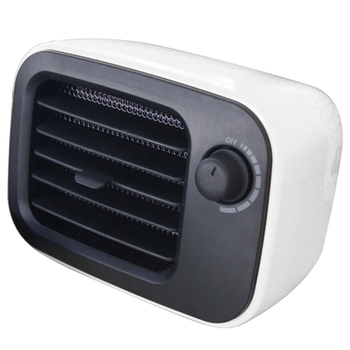 Портативный мини подключаемый тепловентилятор 500 Вт PTC Электрический обогреватель пространства для домашнего офиса Оранжевый/США штекер Ndustrial используется калорифер с вентилятором