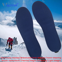 BEST Heated Insoles with Wireless Remote Control Which Cushioning Comfortable Insert Skiing Hiking Winter Sport Required Insoles