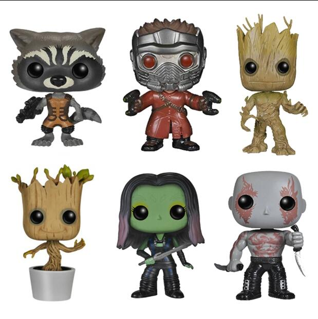 Funko POP Guardians Of The Galaxy 2 Collection Action Figure Toys For Children Birthday Gift