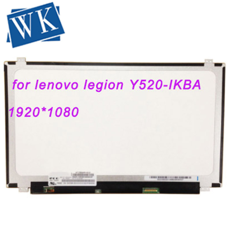 LCD for lenovo legion Y520-IKBA Y520-IKBM Y520-IKBN Screen IPS LED Display matrix 1920x1080 FHD Matte Panel Replacement
