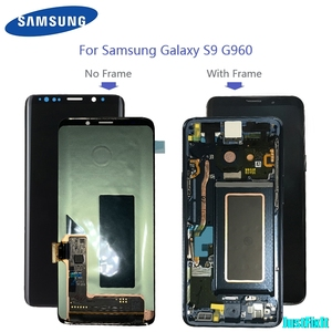 Image 3 - Replacement With Frame For Samsung S9 plus G965 965F s9 g960 g960f burn in shadow LCD Display Digitizer Touch Screen