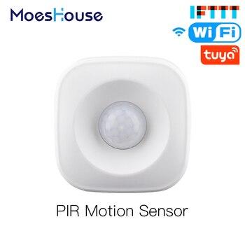 Smart WiFi PIR Motion Sensor Human Detector Smart Life Tuya App Control Alarm System Smart Body Movement Sensor Work With IFTTT