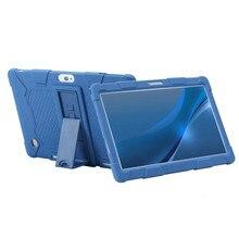 Funda de tableta 10,1 Universal de silicona suave para 10 10,1 pulgadas Android Tablet PC suave a prueba de golpes Funda L 9.44in W 6.69in