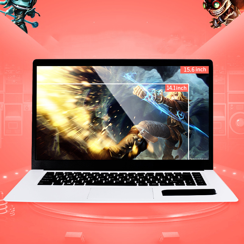 15.6 Inch Laptop 1920x1080 Full HD Ultrabook For Intel Atom X5-Z8350 Quad Core 4GB+64GB For Windows 10 Notebook