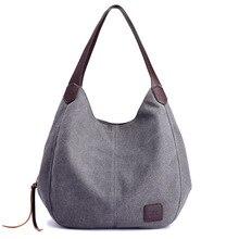KVKY New Handbags Bag Female Canvas Casual Tote Bags Handbag