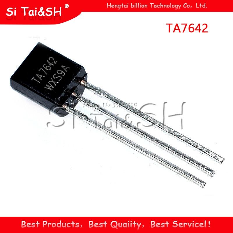 100PCS TA7642 7642 TO92 Single Radio Chip IC NEW GOOD QUALITY