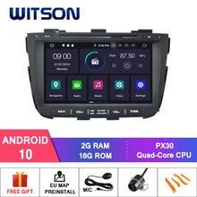 Witson android 10.0 ips tela hd para kia sorento 2013 carro dvd estéreo gps 4gb ram + 64gb flash 8 octa núcleo + dvr/wifi dsp + dab opção