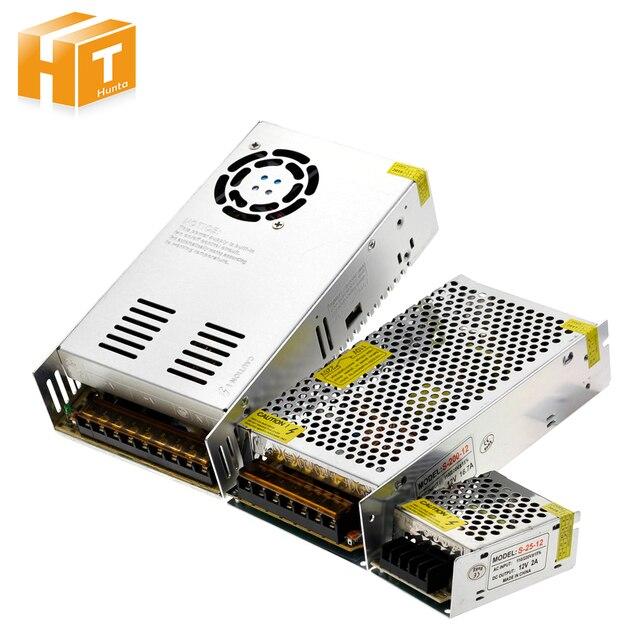 แสงTransformers AC110V 220V To DC12Vแหล่งจ่ายไฟอะแดปเตอร์1A 3A 5A 8A 10A 15A 20A 25A 30A 40A 50A LED Stripสวิทช์.