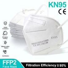 5-100 piece FFP2 Face Masks KN95 facial Mask Safety Dust Respirator Breathable Mouth Masks Protective Mascarillas tapabocas