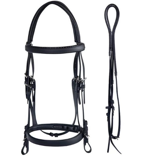 Cavassion Equestrian Professional PVC Bridle Soft Comfortable Easy-Cleaning 2