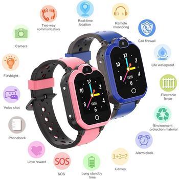 4G Net Video Kids Smart Watch Smartwatches Baby Watch Children SOS Call Location Finder Locator Tracker Anti Lost Monitor GBS