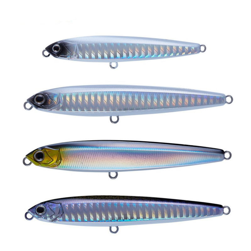 NEW Pencil lure 10g14g18g24g 75mm 95mm minnow fishing lures hard bait high quality vibrating light jigging japan fishing tackle in Fishing Lures from Sports Entertainment