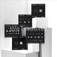 Qianli черный плюс BGA трафарет для телефона 11 X XS XR XSMAX 8P 8 7P 6P NAND IC чип для ремонта квадратного отверстия трафарет