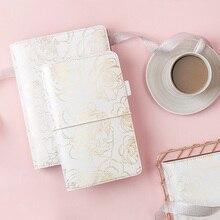 دفتر ذهبي من Lovedoki مزود برقاقة صغيرة الحجم ومخطط حسب المقاس ومذكرات يومية شخصية هدية أدوات مكتبية ومستلزمات مدرسية