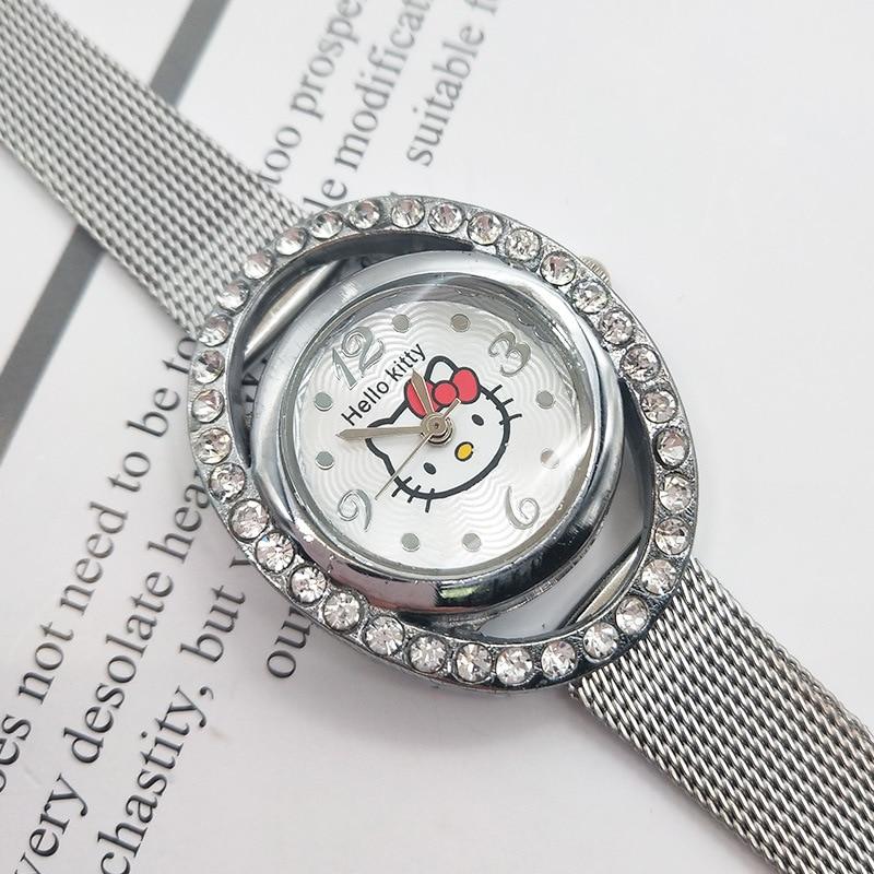 Children Watch 2019 Fashion High Quality Watch Student Stainless Steel Quartz Beautiful Wristwatch  Child Clock