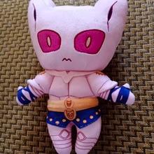 Toys Adventure Killer-Queen Plush-Doll Jojo's Anime Cosplay Cute 20cm Bizarre Christmas-Gifts